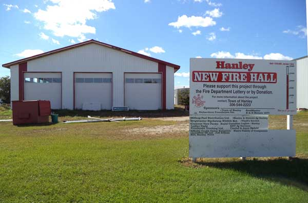 New fire hall