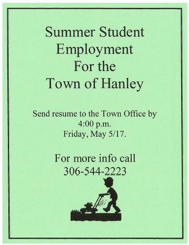 Student Summer Employment